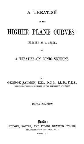 Download A treatise on the higher plane curves