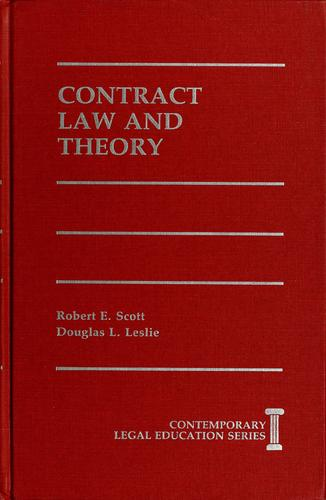 Download Contract law and theory