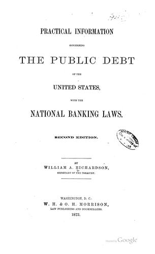 Download Practical information concerning the public debt of the United States