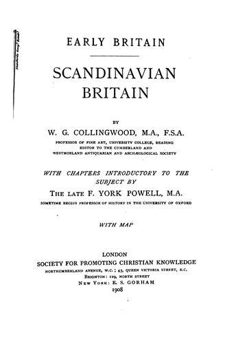 Download Scandinavian Britain