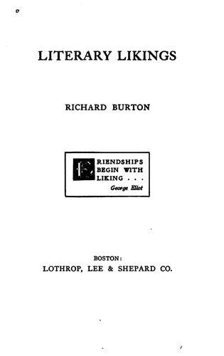 Download Literary likings