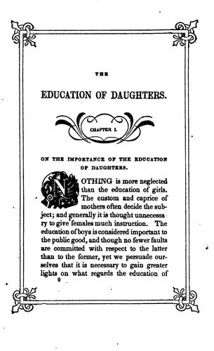 Download The Education of a Daughter