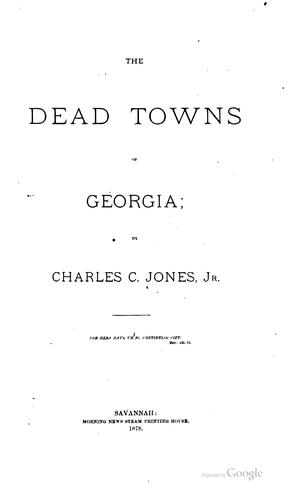 Download The dead towns of Georgia