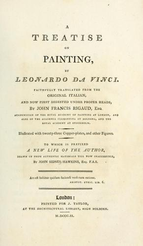 Download A treatise on painting