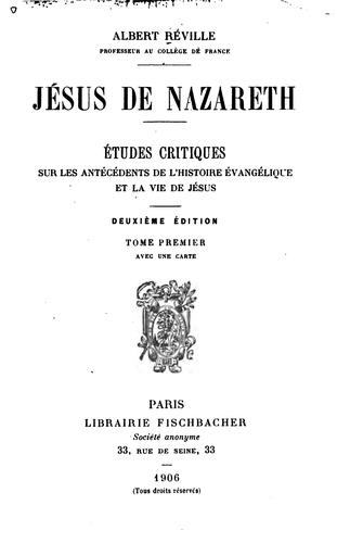 Download Jésus de Nazareth.