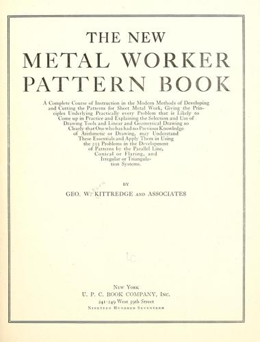 Download The new metal worker pattern book