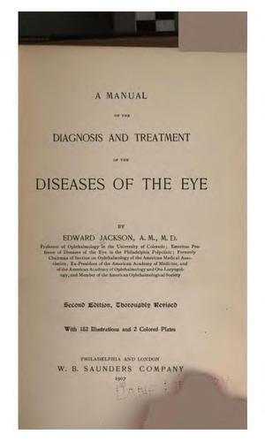 Download A manual of the diagnosis and treatment of the diseases of the eye.