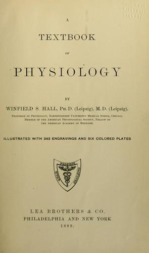 Download A textbook of physiology.