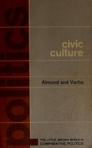 Cover of: The Civic culture   Gabriel Abraham Almond