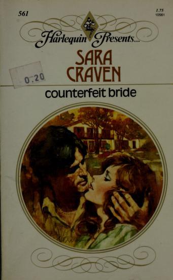 Cover of: Counterfeit Bride | Sara Craven
