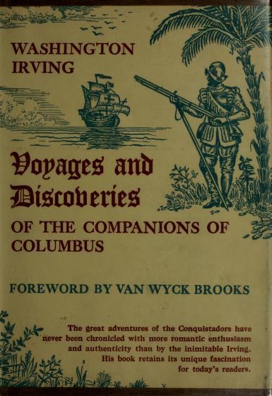Voyages and discoveries of the companions of Columbus by Washington Irving
